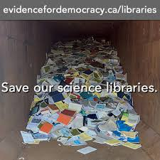 Save science libraries
